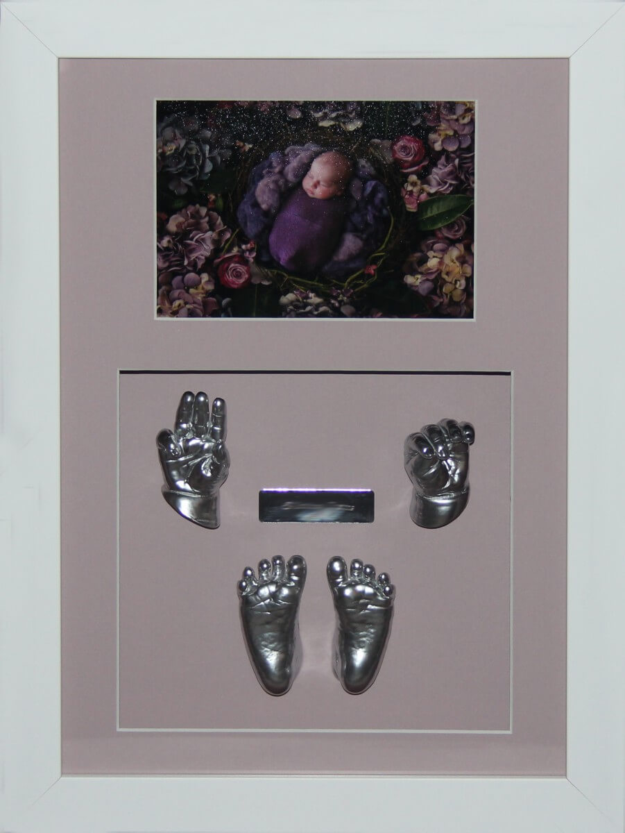 This is one of our standed range frames. Great balance of colour between mat and photo.
