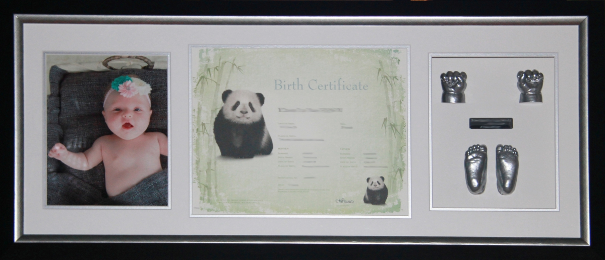 Black-Silver-Birth-Certificate-Frame (3)
