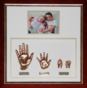 Three Sibling Set of Hands